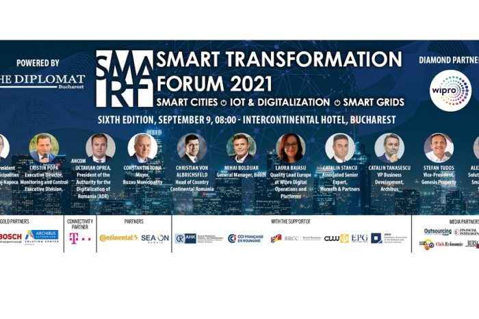 SMART TRANSFORMATION FORUM  to take place on September 9 at Bucharest