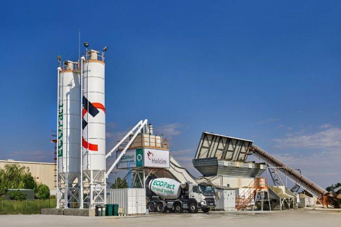 Holcim Romania opens new eco concrete station in Ilfov County