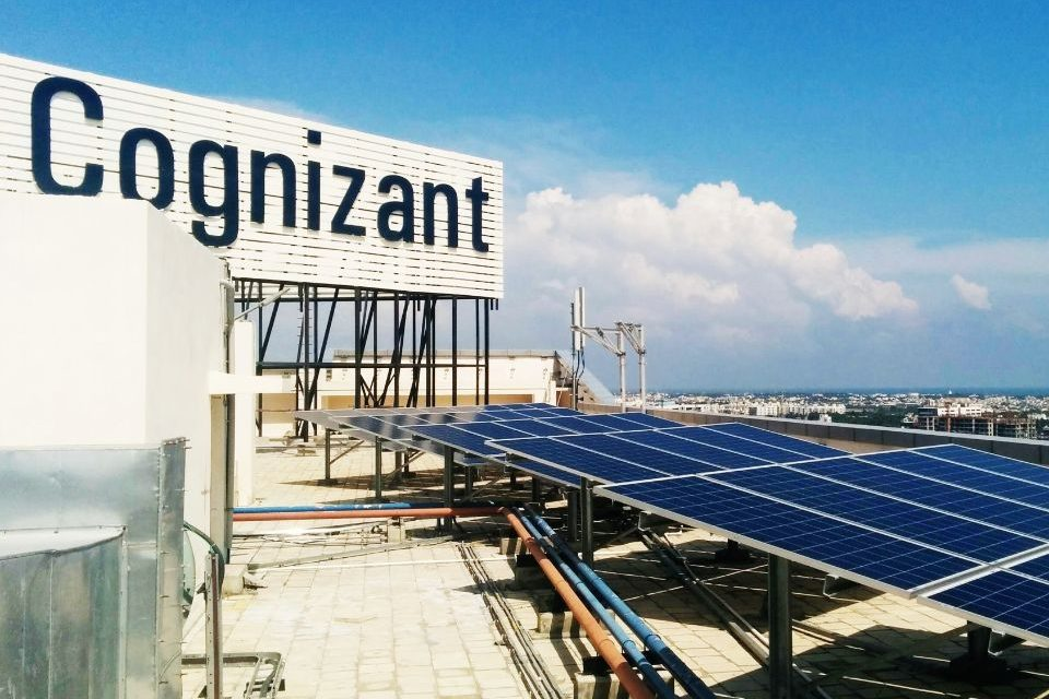Cognizant commits to net zero emissions by 2030