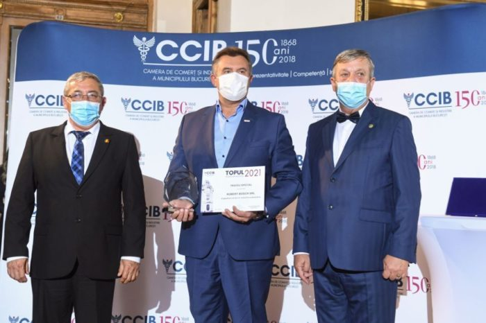 CCIB: Companies included in the Bucharest Top realize 44.9 percent of the turnover of the companies included in the National Top